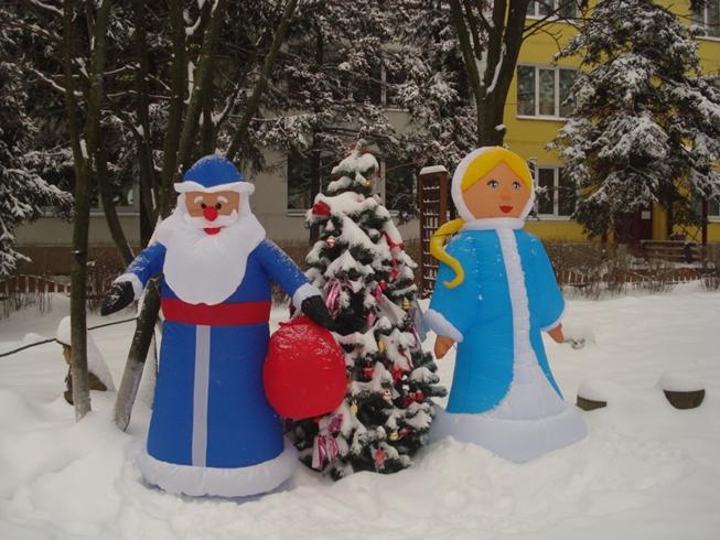 Оформление территории детского сада к новому году своими руками фото - Vendservice.ru