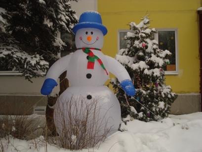 Зимние поделки для улицы своими руками для садика